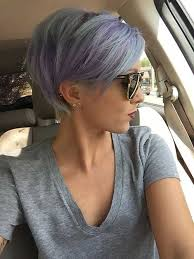 funky hairstyle for silver hair we prefer for this silver hair color pixie cuts sassy cut short
