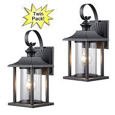 amazon outdoor light fixtures black exterior light fixtures amazon com