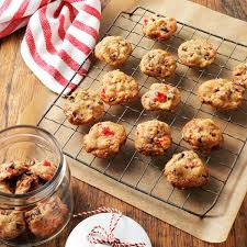 fruitcake christmas cookies recipe taste of home