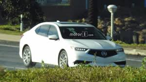 2018 acura tlx reviews and refreshed 2018 acura tlx spied undisguised during photoshoot