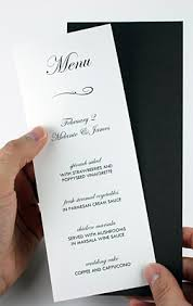 wedding program card stock tips to make layered diy invitations wedding programs