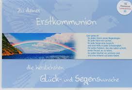 spr che kommunionkarte kommunionkarte regenbogen lesezeichen