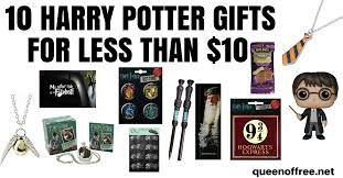 10 harry potter gifts for less than 10 of free