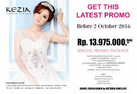 wedding dress kelapa gading wedding event kezia bridal package 13 975 juta