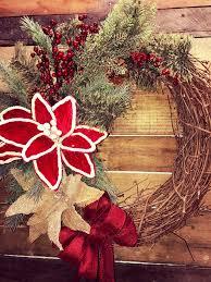 christmas wreath holiday wreath rustic christmas wreath rustic