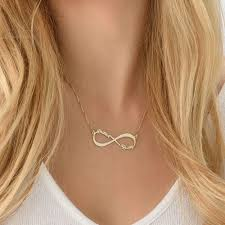 name necklace store images Infinity love personalized name necklace 14k gold plated copper jpg