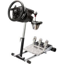 supporto volante supporto per volante wheel stand pro nero in vendita