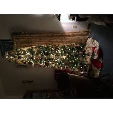 kingswood fir hinged pencil 7 5 foot tree free shipping today