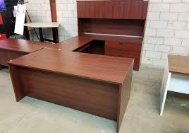 Computer Desk Toronto Avant Cherry U Shaped Desk Toronto New U0026 Used Office Furniture