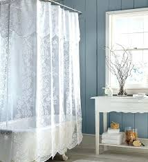 Priscilla Curtains With Attached Valance Lace Curtains With Attached Valance Teawing Co