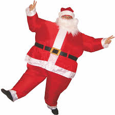 Blow Halloween Costumes 1 5 2m Inflatable Christmas Santa Claus Costume 110 240v