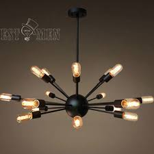 Exposed Bulb Chandelier Best Sputnik Chandelier Products On Wanelo