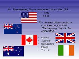 quiz about thanksgiving