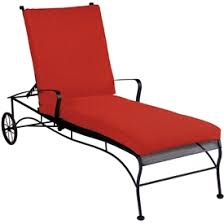 Wrought Iron Chaise Lounge Outdoor Chaise Lounges