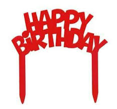happy birthday cake topper happy birthday cake topper cake decorations toppers just for