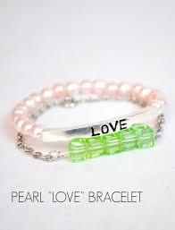 stacking bracelets easy diy stacking bracelets one artsy