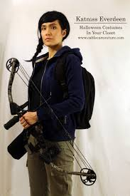 Katniss Everdeen Costume Halloween Costumes In Your Closet Katniss Everdeen From The