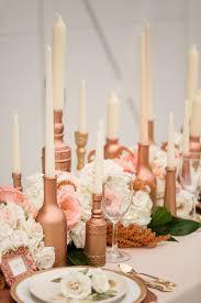 rose gold wedding ideas ruffled