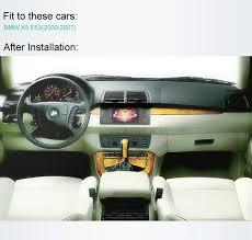 avec radio tableau de bord voiture dvd système navigation gps stéréo pour bmw