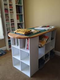 Quilting Cutting Table by Sherry Found A Cutting Table For Her Quilting Studio The Third