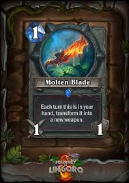 hearthstone every journey to un goro card revealed so far