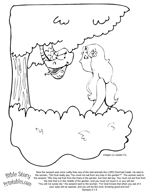 adam u0026 eve coloring pages