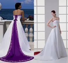 Purple Wedding Dresses Purple And White Dresses Naf Dresses