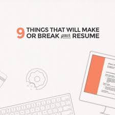 15 steps for updating your resumé