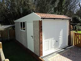 modular garages with apartment concrete garages prefab garages concrete sheds and workshops