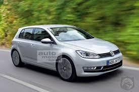 vw golf audi a3 rendered speculation if the mkvii volkswagen golf gets a premium