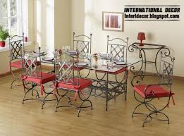 wrought iron dining table set iron dining room chairs indoor iron dining table and chairs 2013