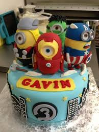 10 Adorable Minion Cakes You U0027d Wish On Your Birthday Despicable