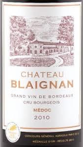 chateau blaignan medoc prices wine château blaignan 2010 expert wine review natalie maclean