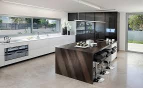 ilots central de cuisine cuisine moderne avec ilot central en photo contemporaine newsindo co