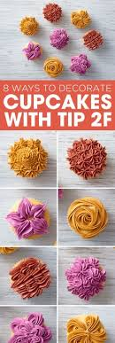 cupcake decorating tips looking to up your cupcake decorating use wilton tip 104 to