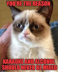 Asian Karaoke Meme - what i look like if you re talking while im talking meme