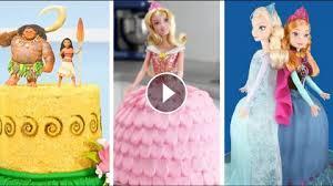 best princess cakes moana tinkerbell aurora frozen anna u0026 elsa