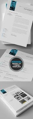 contemporary resume header and footer the modern resume cv templates are made in adobe photoshop and