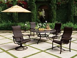 Wicker Swivel Patio Chair Furniture Fill Your Patio With Mesmerizing Tropitone Furniture