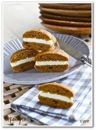 pumpkin whoopie pie with elderberry flavored the kitchen