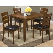 jofran 591 plantation dining table u0026 4 chairs set