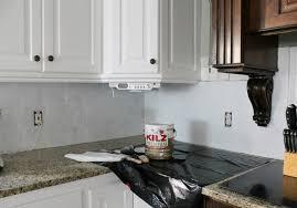 painting kitchen backsplash i painted our kitchen tile backsplash the wicker house