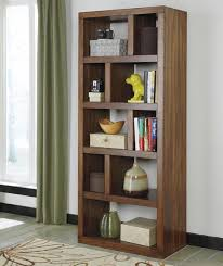 signature design by ashley lobink contemporary open bookcase with