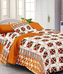 Throw Pillow Covers Online India Story Home Beautiful Printed Cotton 4 Single Bed Sheets With 4
