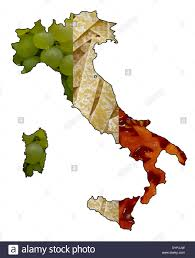 Map Of Italy by Map Of Italy Stock Photos U0026 Map Of Italy Stock Images Alamy
