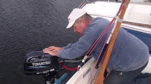 outboard motor start up procedure youtube