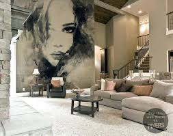 living room mural living room wall murals design ideas 2018
