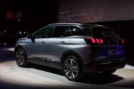 peugeot cars 2016 latest reveal of the peugeot 3008 refreshing change