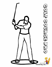 gallant golf coloring pages clubs golf free golfers