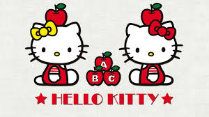 wallpaper kitty red background cute wallpaperspics